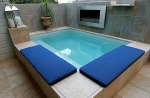 Installation of Plunge Pool 1