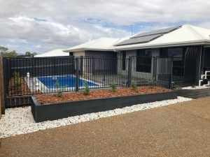 Composite Pool Solutions X Trainer 5 8 Royal Blue fibreglass pool Gracemere QLD 1