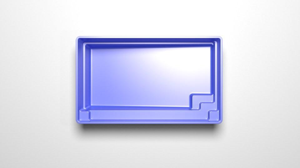 New fibreglass plunge pool - Plunge 7 3D 2